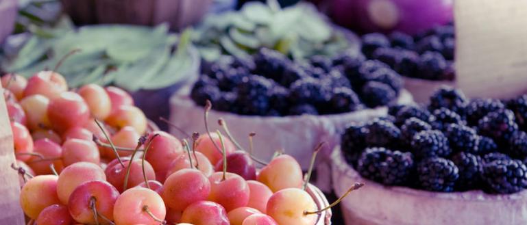 fondo fruta