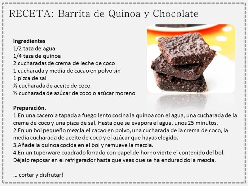 quinoa pastel