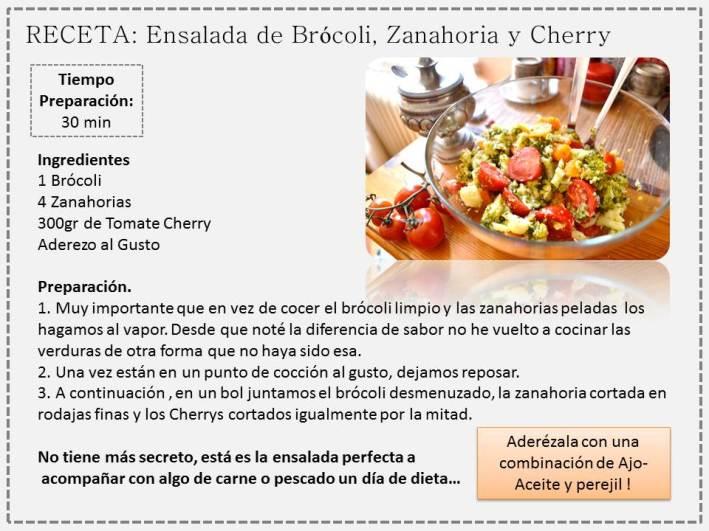 receta brocoli