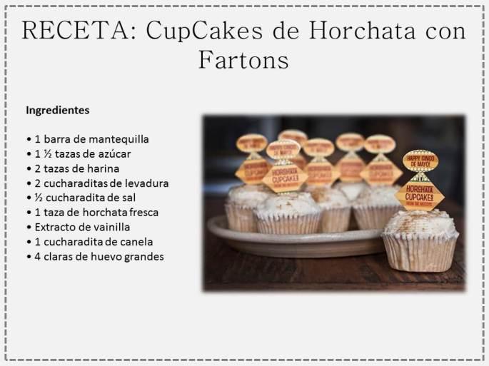 cupcake horchata