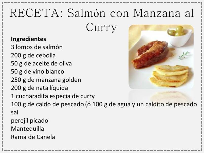 curry y manzana