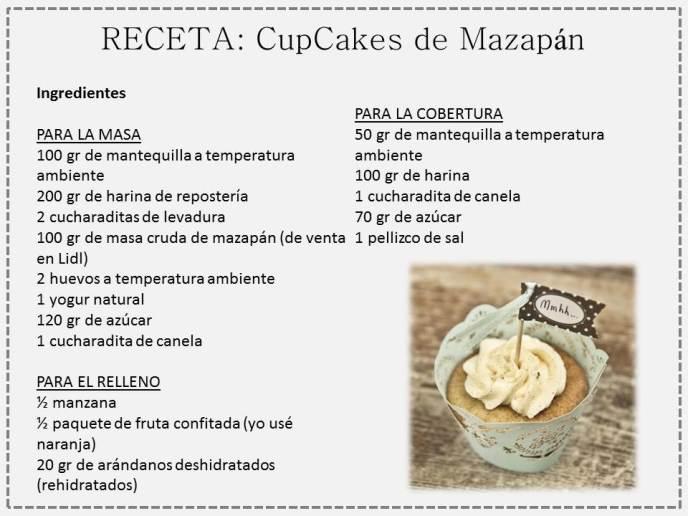cupcake mazapan