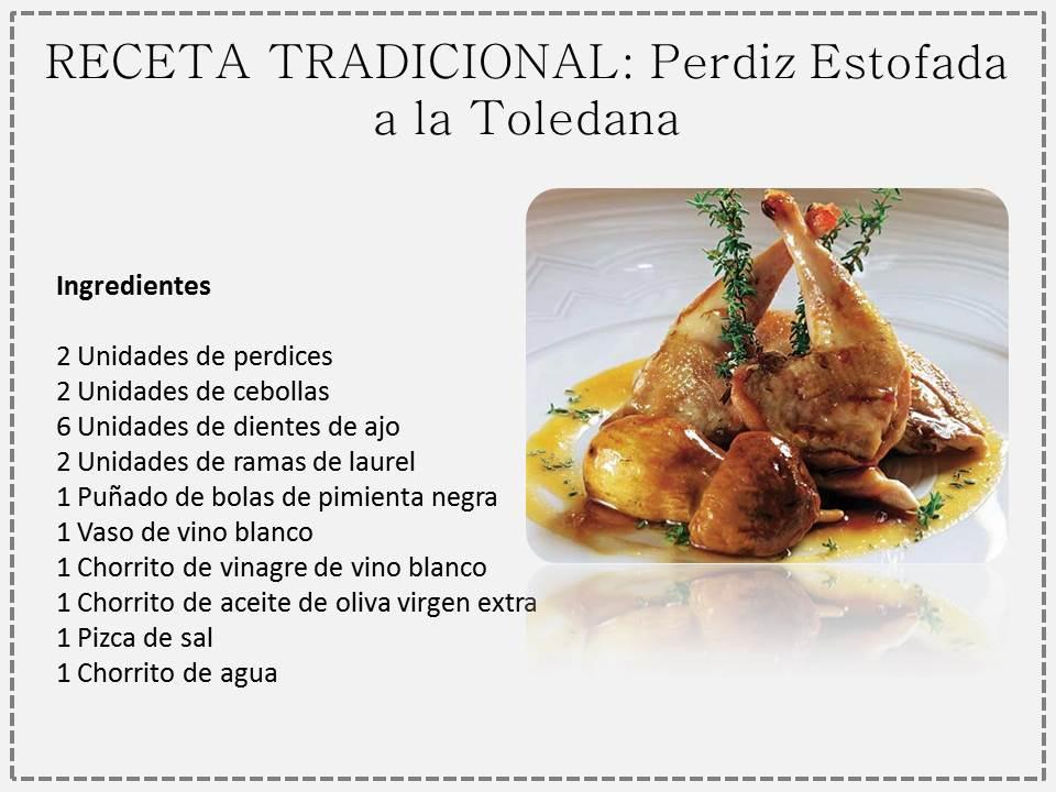 Perdiz estofada a la toledana spanish foods - Como cocinar perdices ...