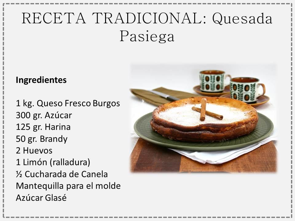 Quesada pasiega la aut ntica gastronom a c ntabra for Blogs de cocina facil