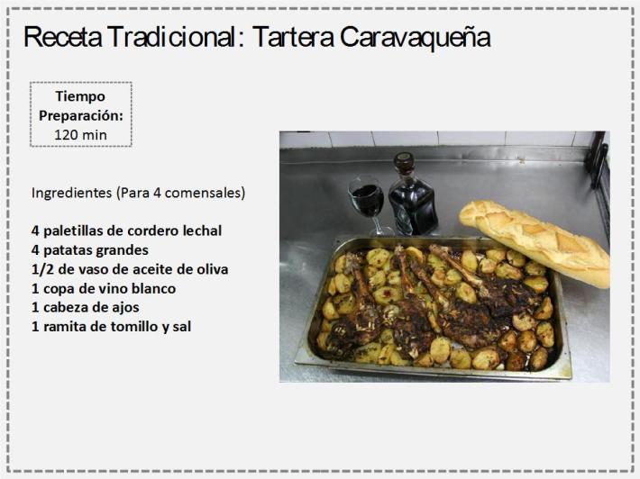 receta tartera